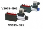 Cartridge solenoid check valve V3033-G25
