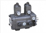 Double variable displacement vane pump