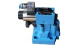 DB/DBW pilot operated solenoid relief valve