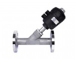 Pneumatic screw Angle seat valve