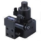 PROPORTIONAL ELECTRO-HYDRAULIC PILOT RELIEF FLOW CONTROL VALVES